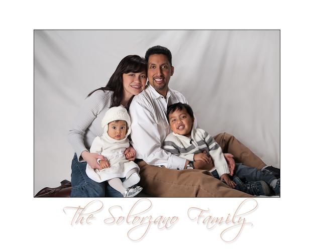 Solorzano Family - Studio