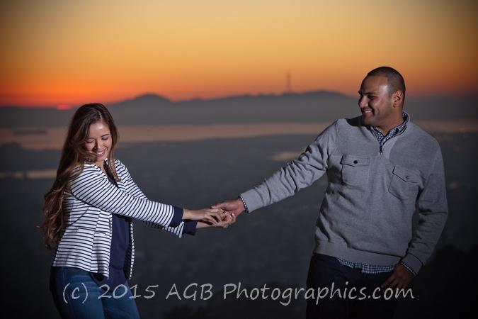 Oakland Hills Engagement Session { Laura + David }